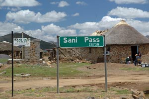 Sani Pass Top
